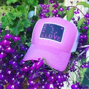 Image of Alaska Love Trucker Hat- Orchid