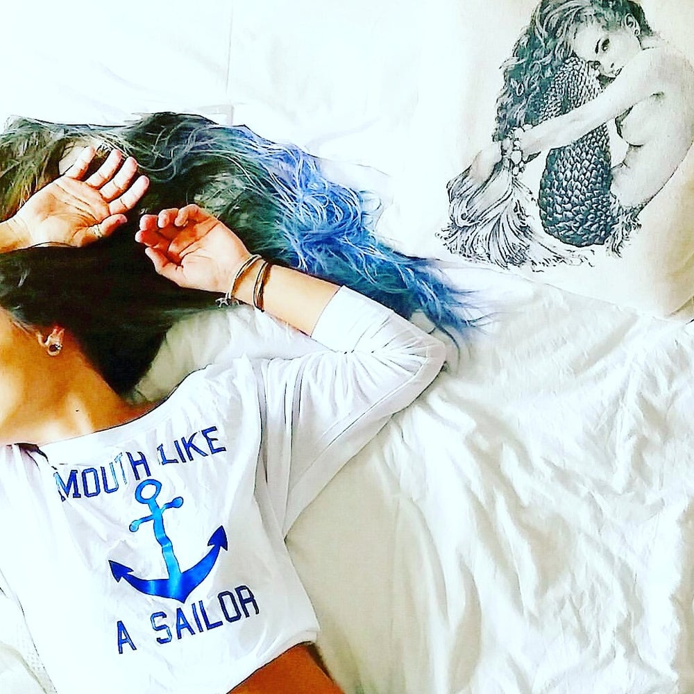 Image of MOUTH LIKE A SAILOR Flowy L/S
