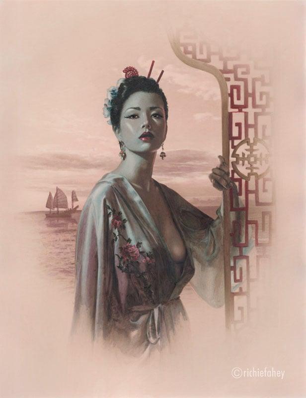 Image of  FAN TAN PORTRAIT