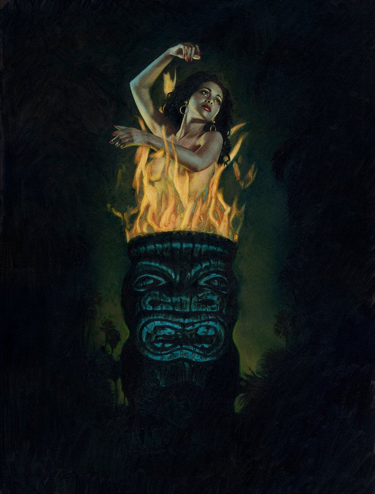 Image of BURNING TIKI