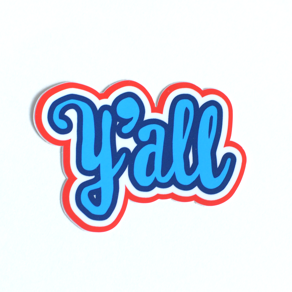 Image of Y'all Sticker