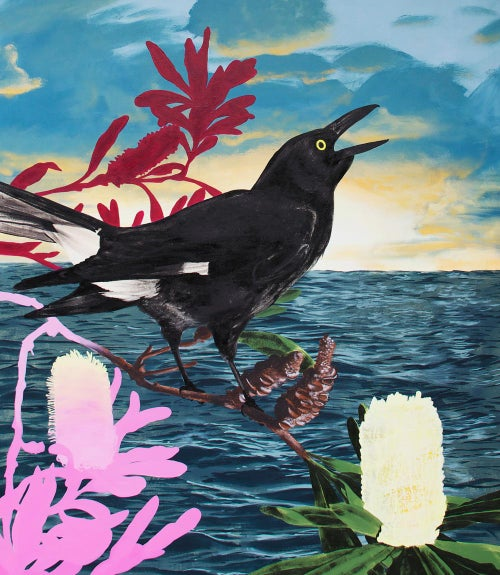 Image of Currawong Print