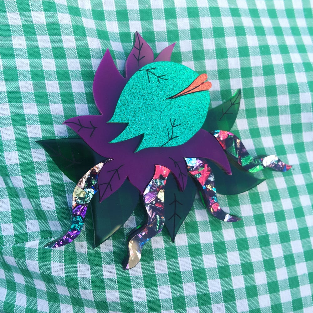 Image of Mean Green Mother Brooch