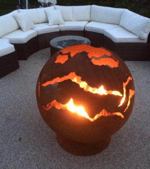 Image of MOLTEN LAVA – FIRE PIT GLOBE