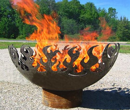 Image of OLD FLAME – FIRE PIT BOWL