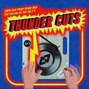 "Image of Thunder Cuts by Aeon Seven 7"" scratch record"