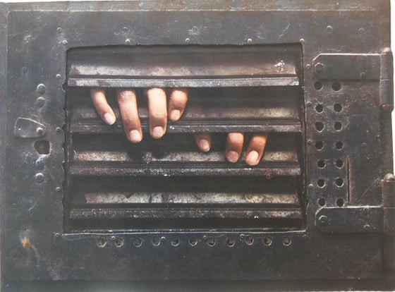 Image of Dan Witz - Monica (Two Hands)