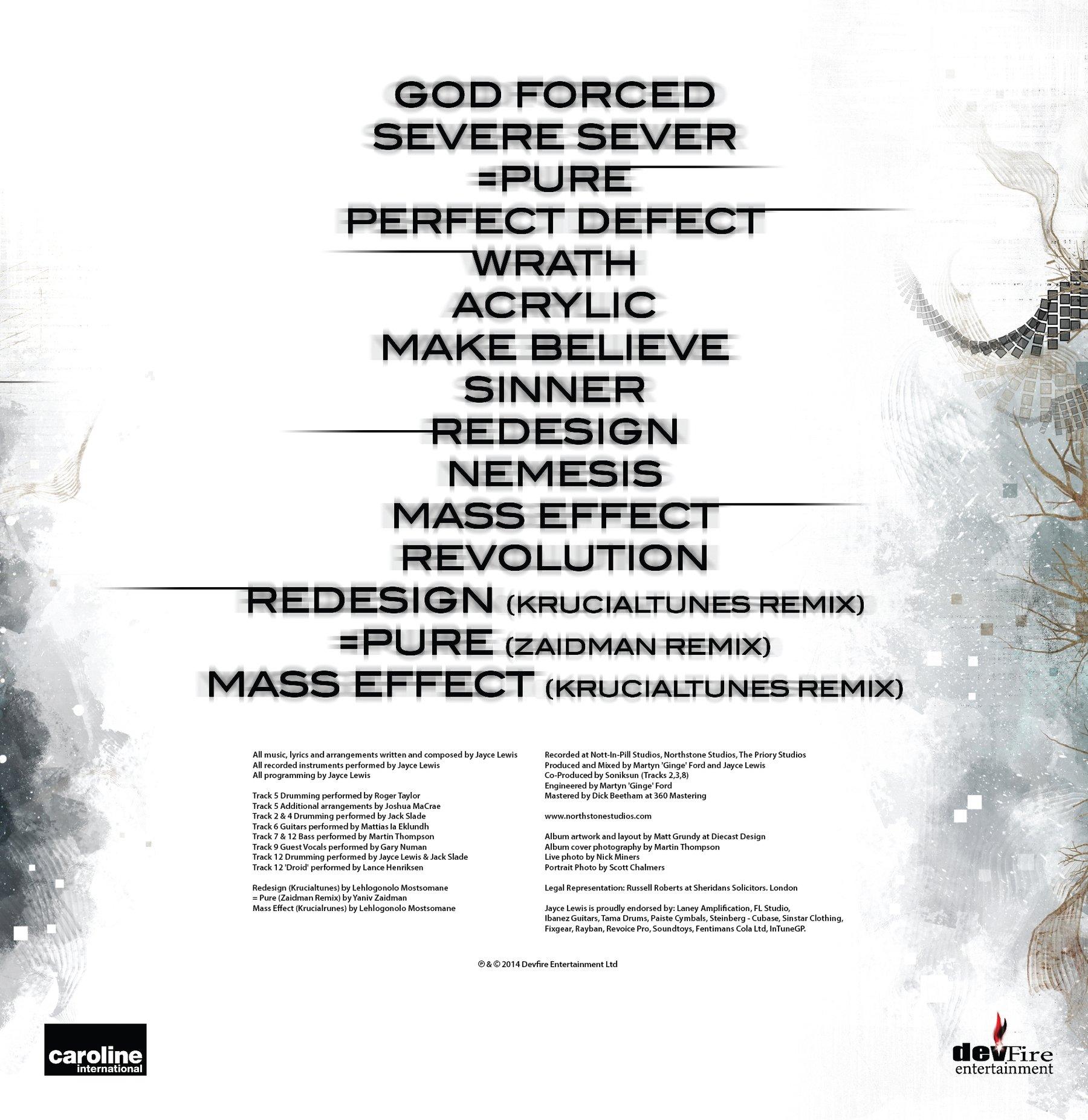 Jayce Lewis - Nemesis (Special Edition) Digipack CD