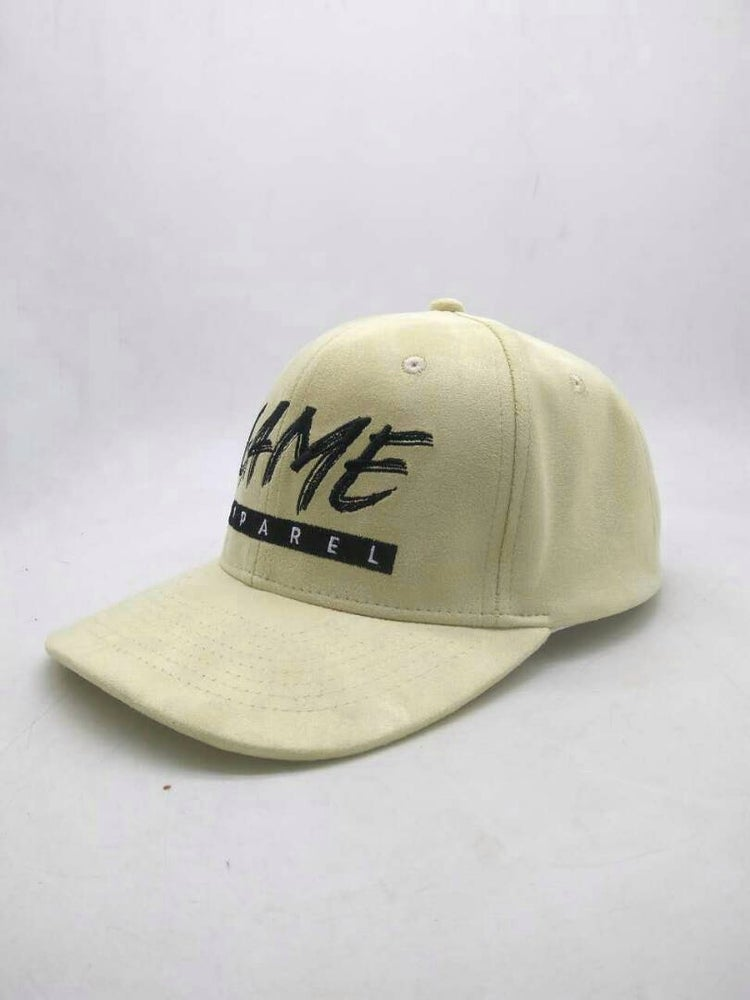 Image of Suede Snapback in Stone