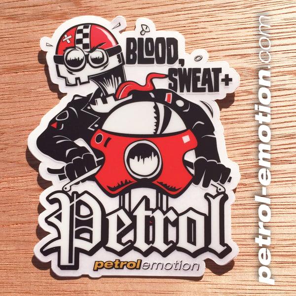 Image of Blood, Sweat, & Petrol Cafe Racer Sticker