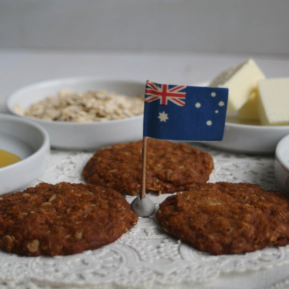 Image of ANZAC COOKIES  (TWO DOZEN)