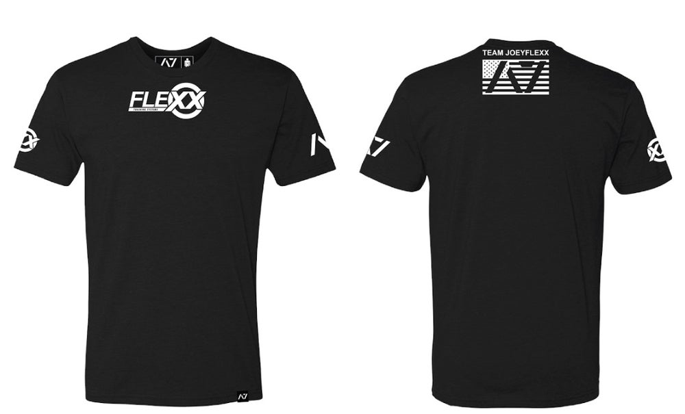 Image of Black/White Flexx/A7 Men's Competition Tee