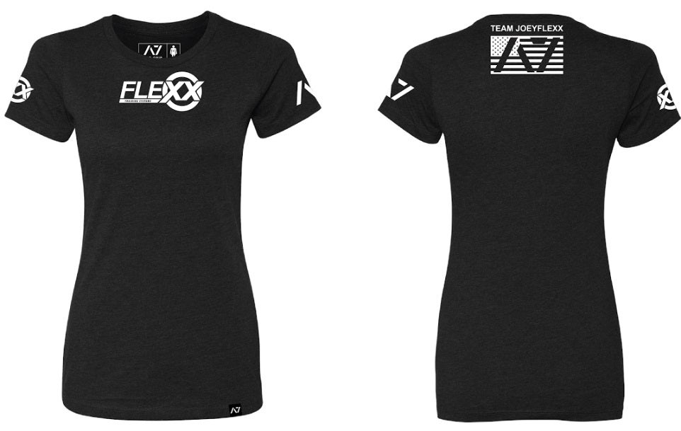 Image of Black/White Flexx/A7 Women's Competition Tee
