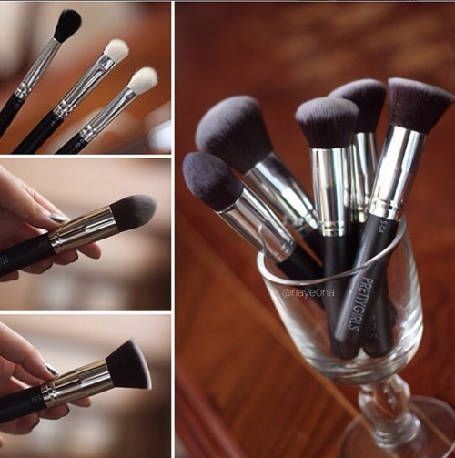 "Image of PRETTYGIRLS 10 Piece - ""Complete Pretty"" Full Makeup Brush Set"