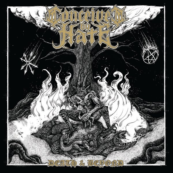 "Image of CONCEIVED BY HATE ""Death & Beyond"" LP"
