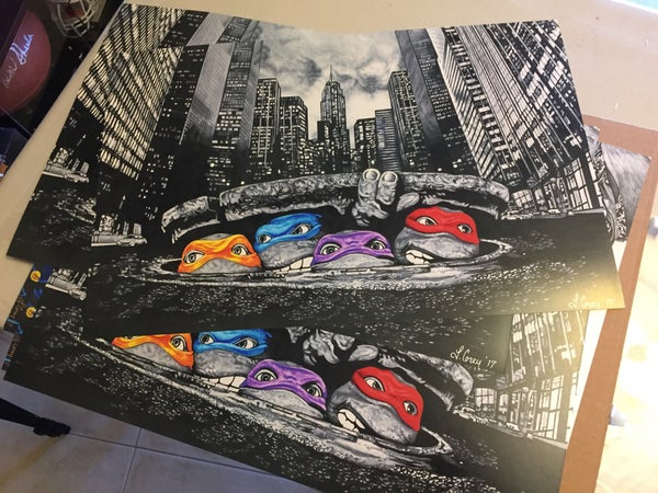 Image of Turtle Power Prints