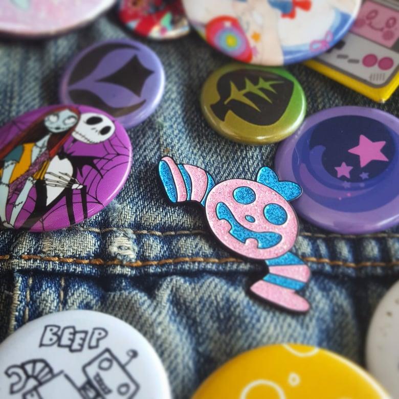 Image of Spooky Knight Enamel Pin