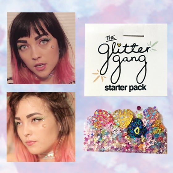 Image of the glitter gang starter pack
