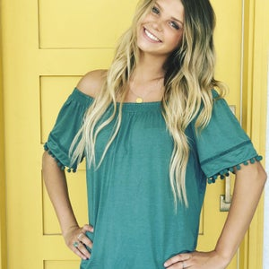 Image of Pompom Perfection Top