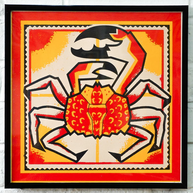Image of Lewis Heriz // Screen Print // Crab // Unframed