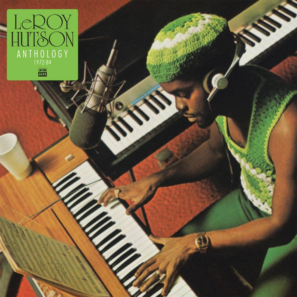 Image of Leroy Hutson - Anthology 1972 - 1984 (LP)