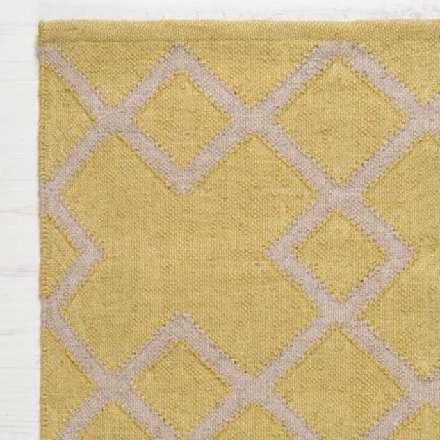 Image of Juno Rug in Mustard Gooseberry