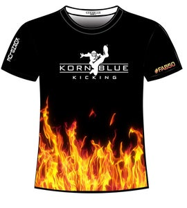 Image of Kornblue Kicking Dri-Fit Fire Shirt