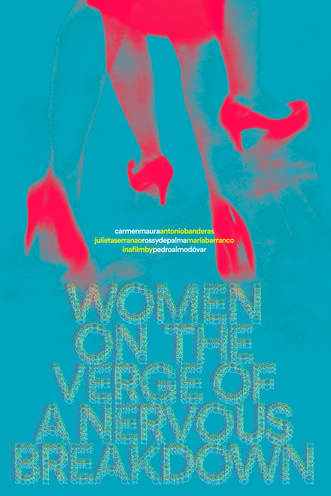"Image of Poster for ""Women on the Verge of a Nervous Breakdown"""