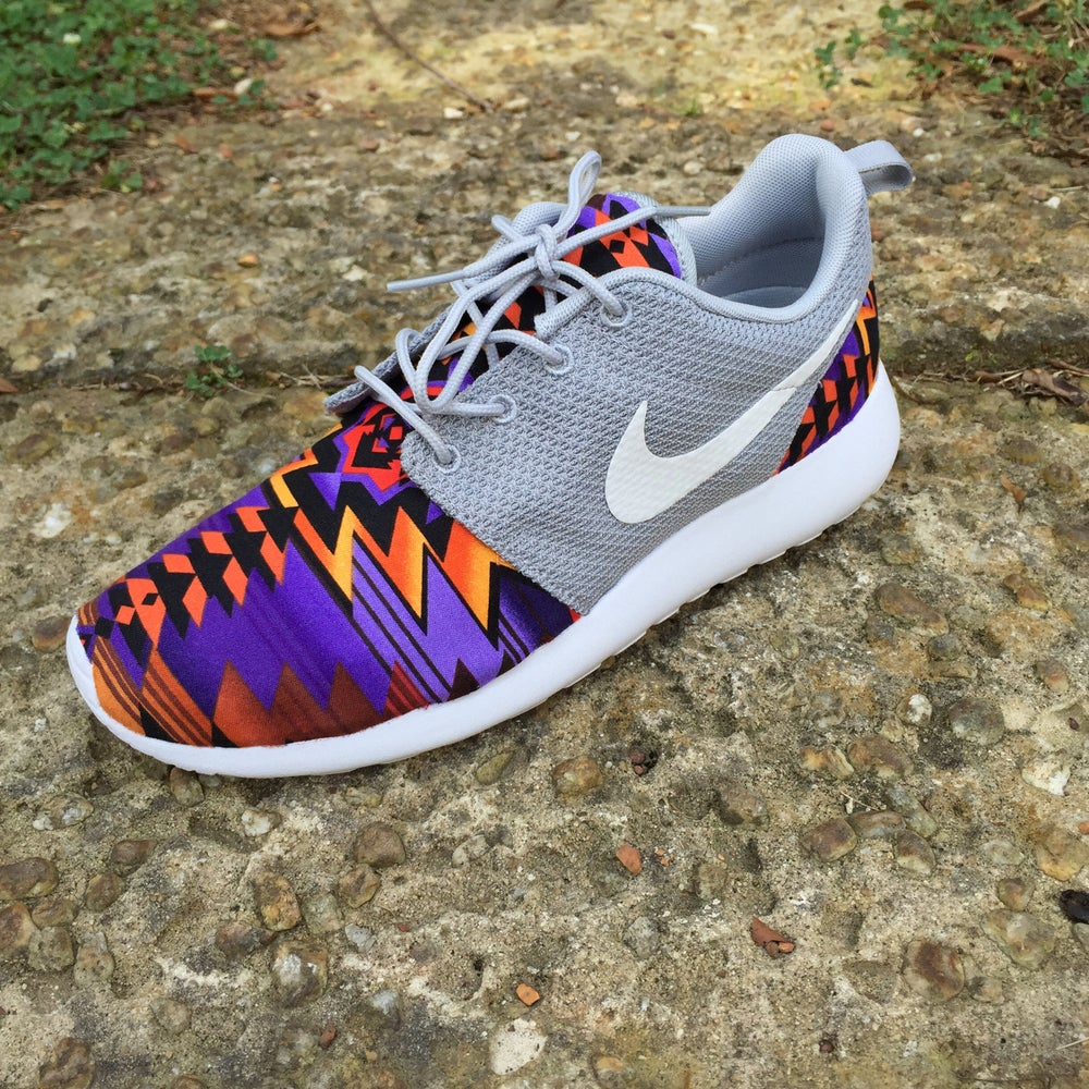 "Image of Custom Nike Roshe One ""Iris Aztec"""