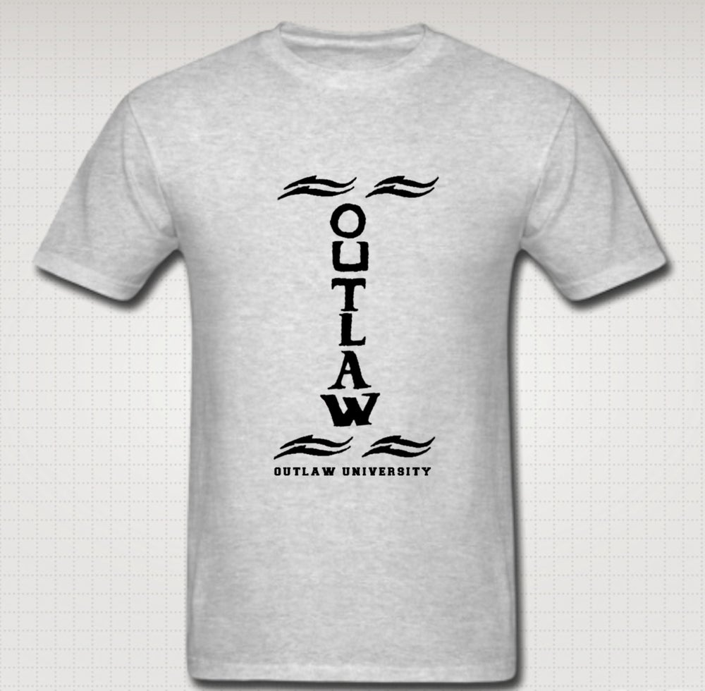 Image of Outlaw Tatt Tshirt - Comes in Black, White, Navy Blue, Red, Grey. CLICK HERE TO SEE ALL COLORS