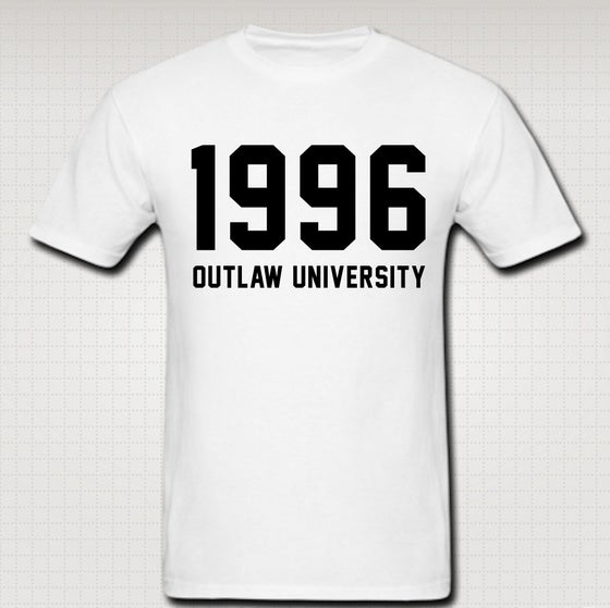 Image of 1996 Tshirt - Comes in White,Black, Navy Blue, Red, Grey. CLICK HERE TO SEE ALL COLORS