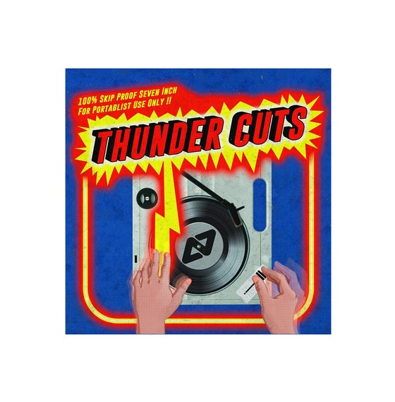 "Image of Thunder Cuts - Aeon Seven (7"" Blue Vinyl)"