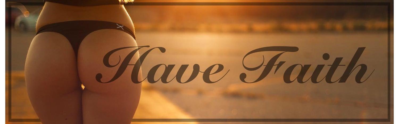 Image of Have Faith Slap Sticker