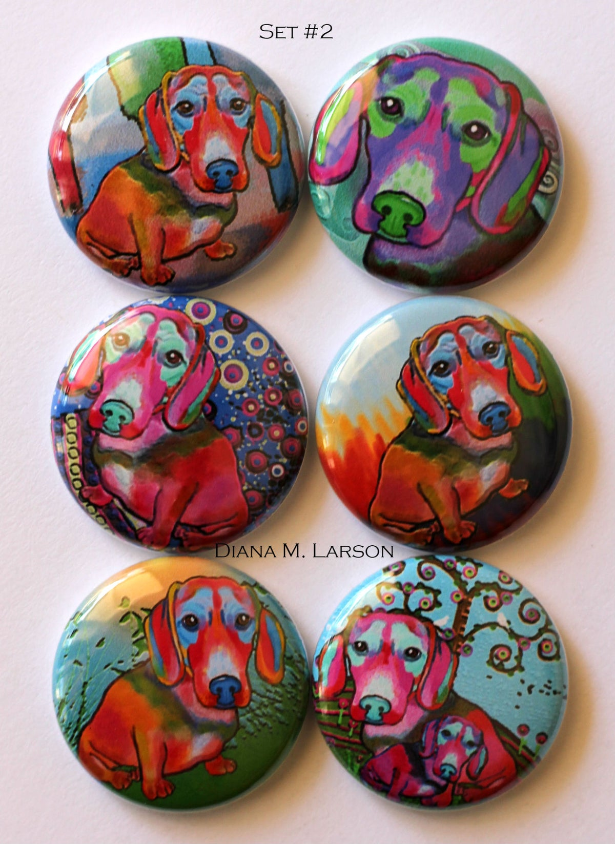 Image of Dog Flair buttons