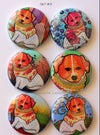 Dog Flair buttons