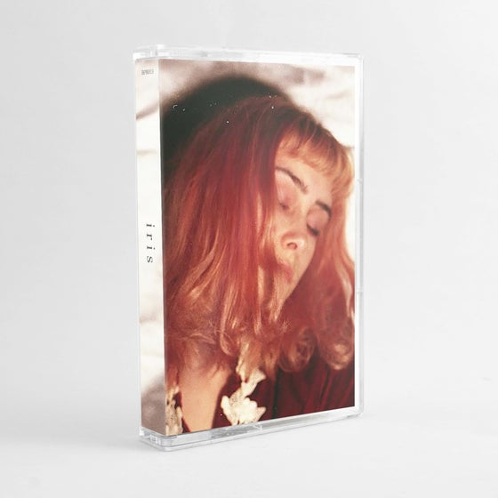 "Image of BPR013cs: iris - ""iris"" Clear / Baby Blue Cassette Tape"