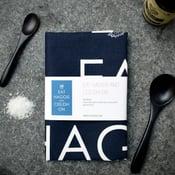 Image of Eat Haggis and Ceilidh On - Tea Towel