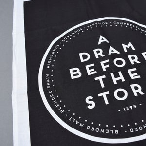 Image of A Dram before the storm - tea towels