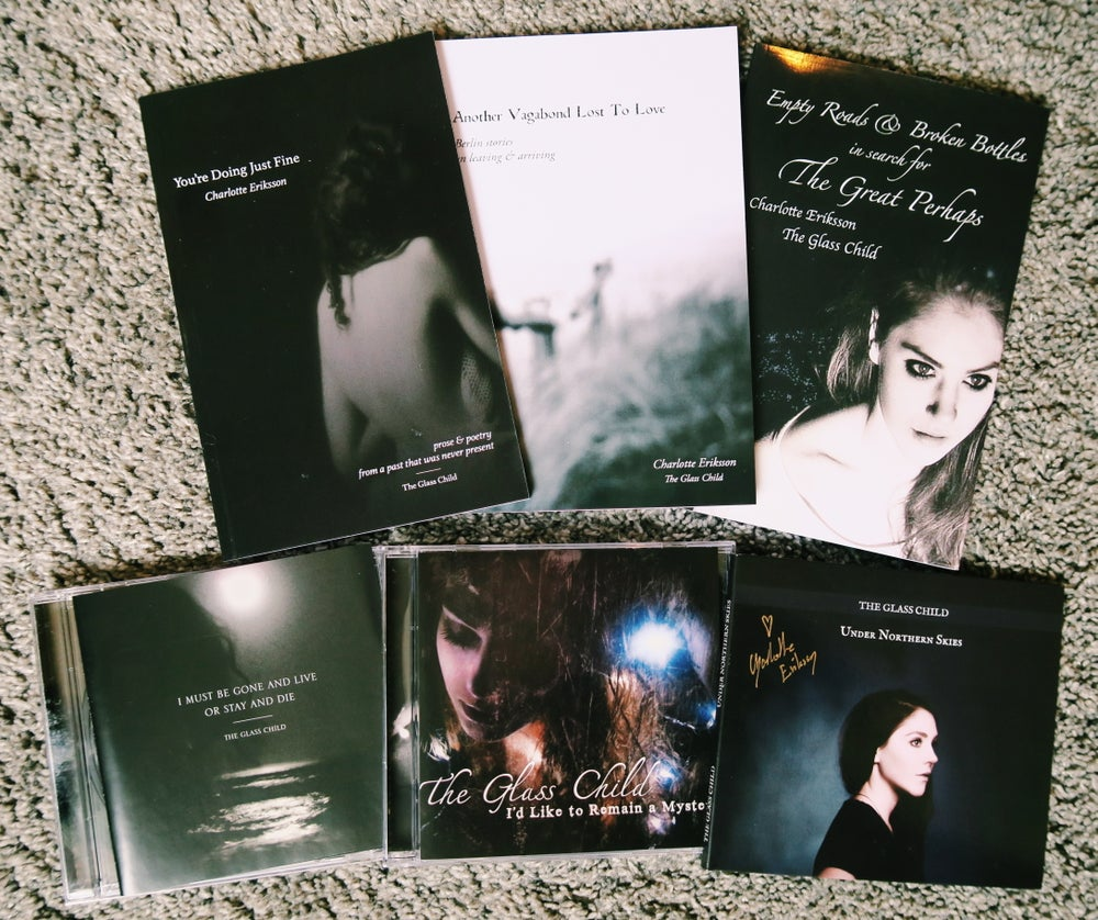 Image of The Glass Child Bundle // All books + all 3 CDs