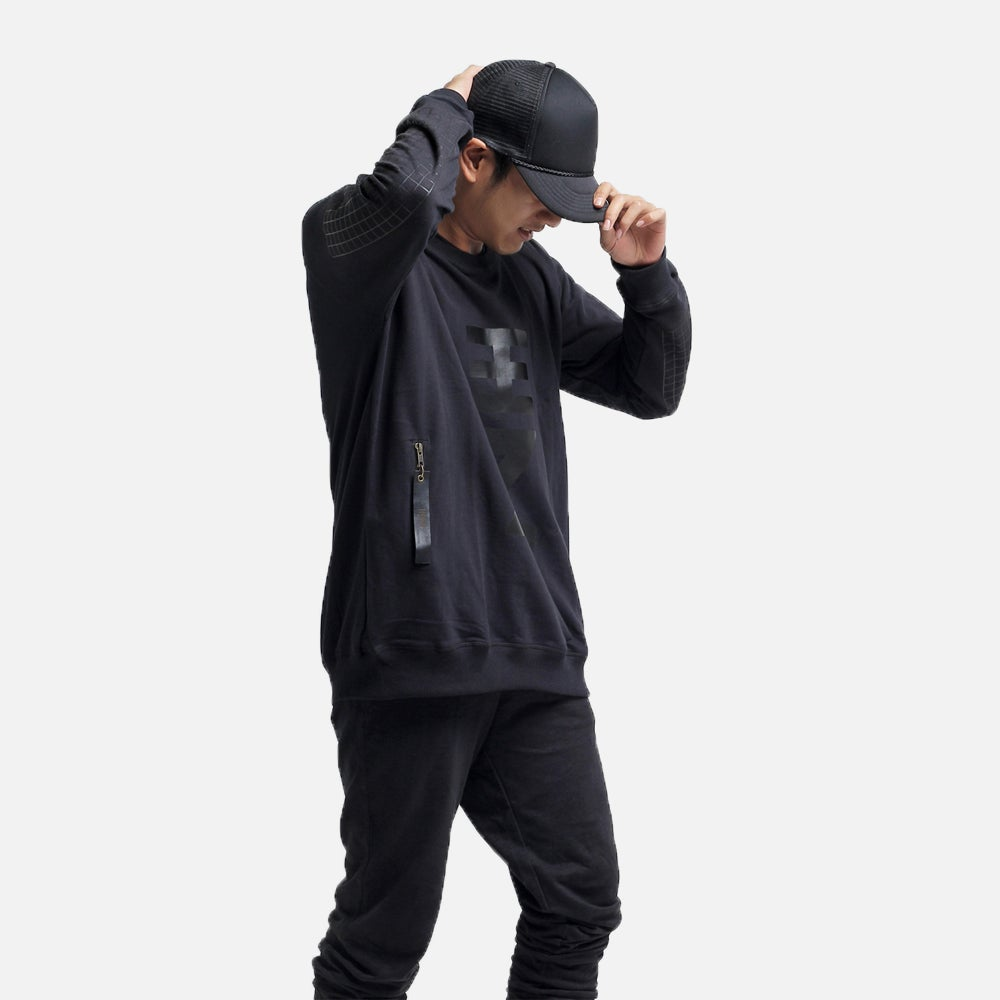 Image of The Black Essential Sweater
