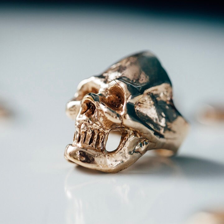 Image of Smiling Skull Ring