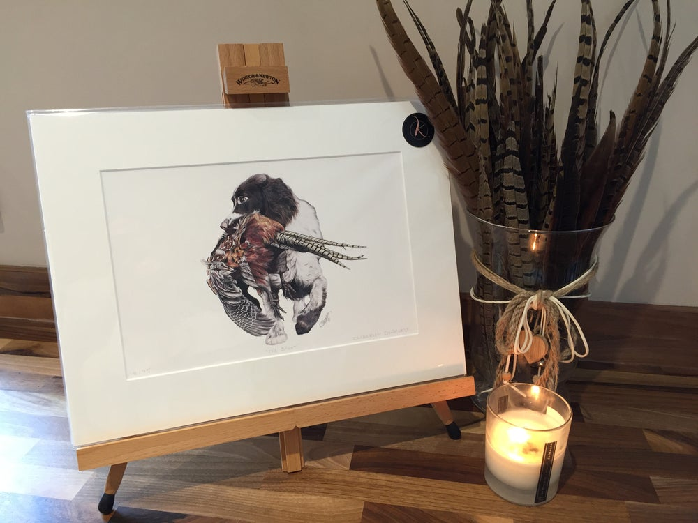 "Image of ""The Shoot"" Limited Edition Print"