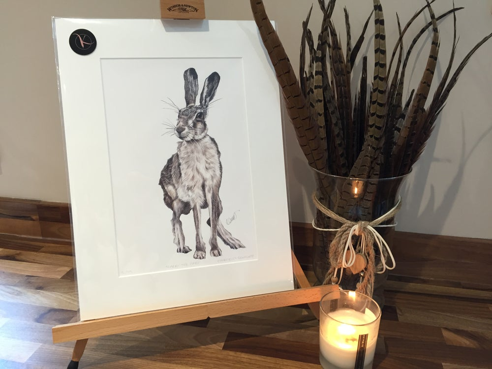 "Image of ""Harry the Hare"" Limited Edition Print"