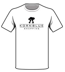 Image of Kornblue Snapping Dri-Fit White Short Sleeve Shirt