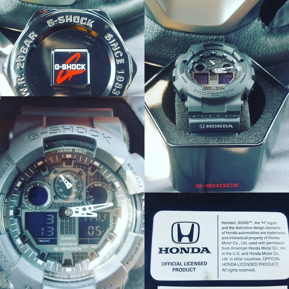 Image of Brand New Old Stock G shock Honda Watch