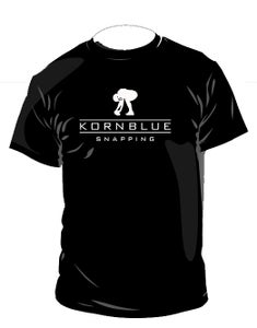 Image of Kornblue Snapping Dri-Fit Black Short Sleeve Shirt