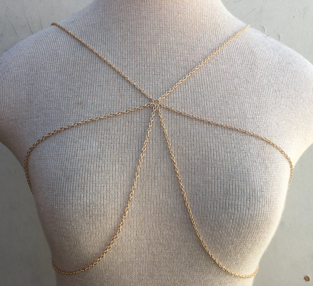 Image of BRALETTE (GOLD & SILVER)