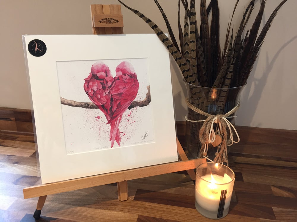 """Image of """"Love Birds"""" LIMITED EDITION PRINT"""