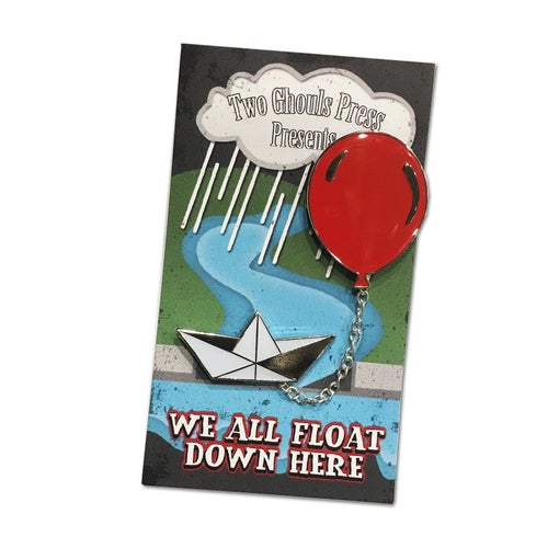 Image of We All Float - Lapel Pin