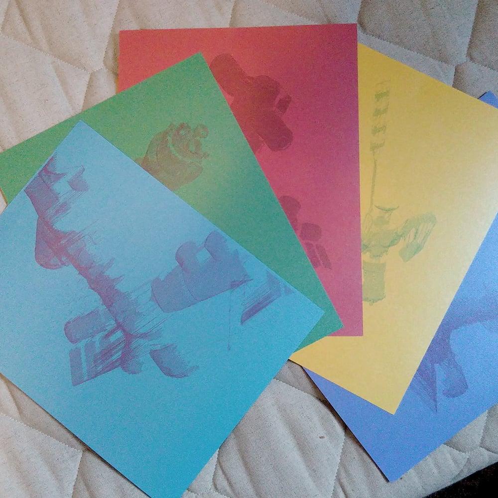 Image of observation probe prints
